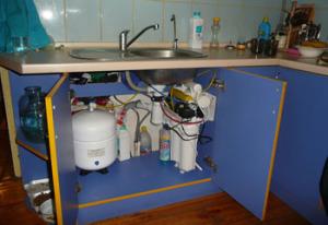 Подключение фильтров для очистки воды
